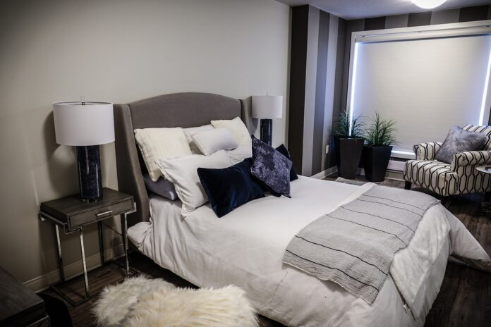 Sypialnia w stylu skandynawskim