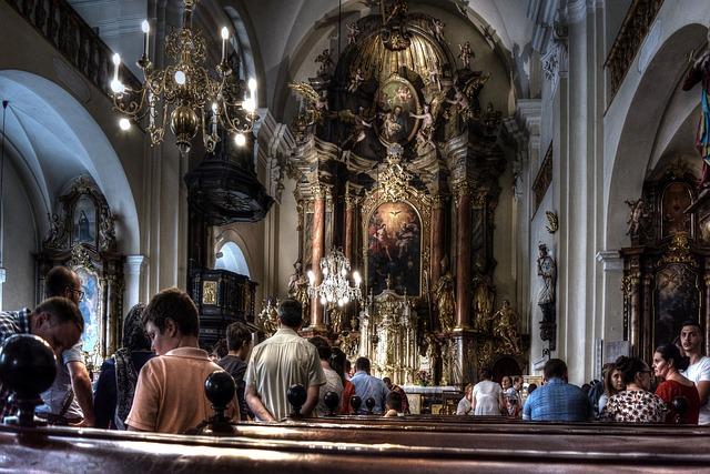 Fotografowanie w kościele