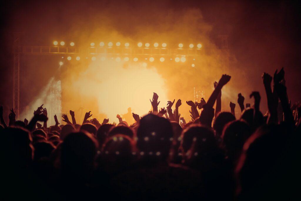 Zdjęcia na koncercie