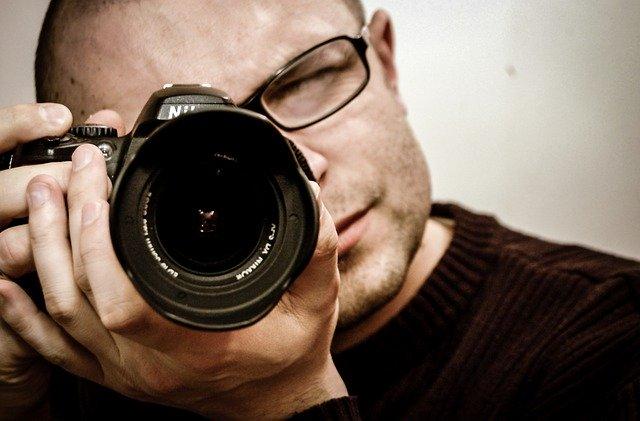 Fotograf w czasie kwarantanny