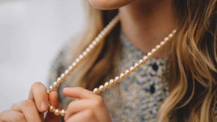 naszyjnik z perel